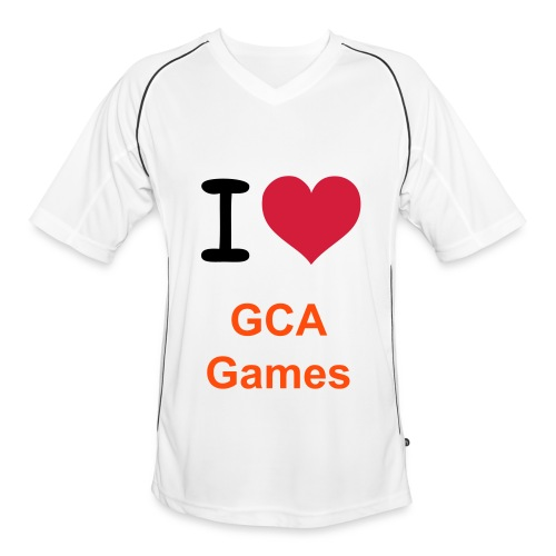 I Love GCA Games T-Shirt - Mannen voetbal shirt