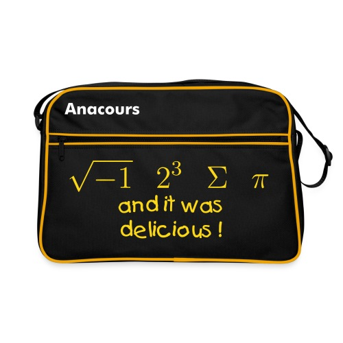 Sacoche Anacours Annecy - Sac Retro
