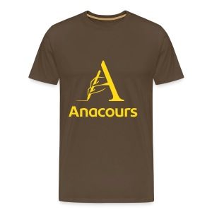 T-Shirt Anacours marron - T-shirt Premium Homme