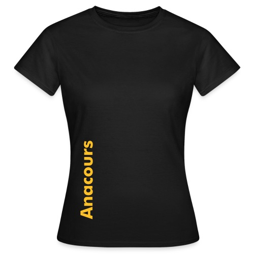 T-Shirt femme Anacours Annecy TEST 2 - T-shirt Femme