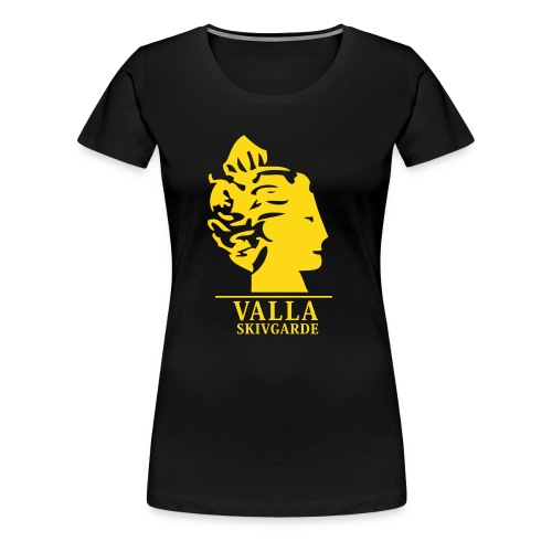 T-shirt slimfit dam - Premium-T-shirt dam