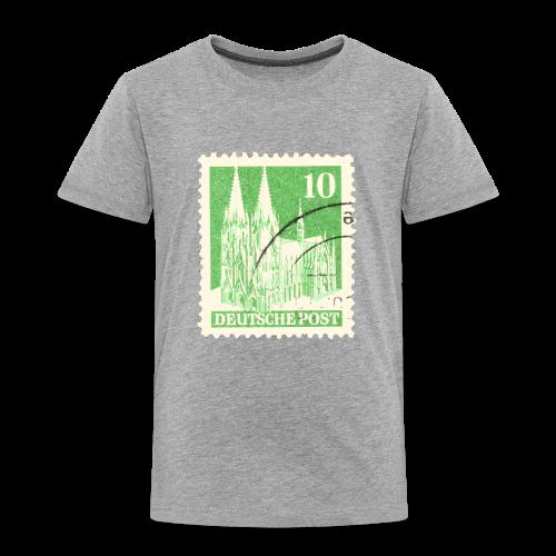 Köln Briefmarken (1948 Grün) Kinder T-Shirt - Kinder Premium T-Shirt