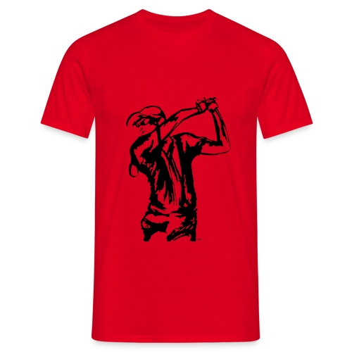 Golf, le swing - T-shirt Homme