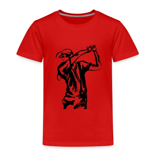 Golf, le swing - T-shirt Premium Enfant