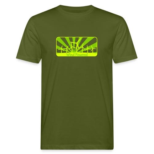 Windpower1 - Männer Bio-T-Shirt