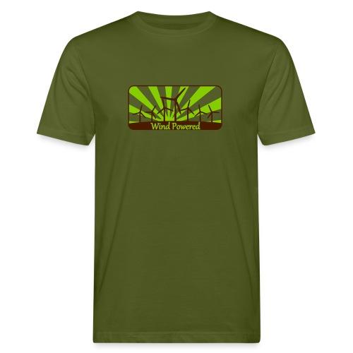 Windpower3 - Männer Bio-T-Shirt