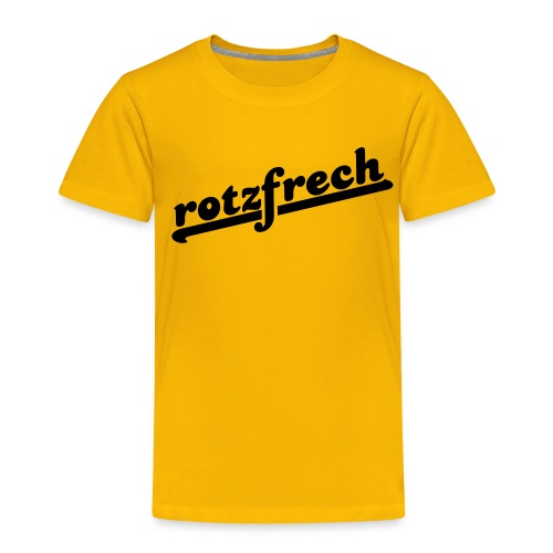 rotzfrech - Kinder Premium T-Shirt