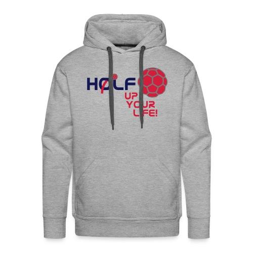 HOLF-Hoodie grey - Männer Premium Hoodie