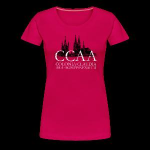 CCAA Colonia Dom St.Martin (Vintage S/W) S-3XL Köln T-Shirt - Frauen Premium T-Shirt