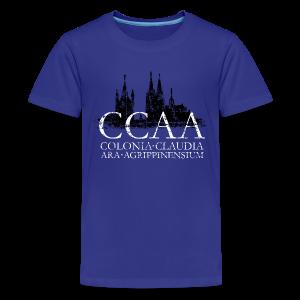CCAA Colonia Dom St.Martin (Vintage S/W) Teenager T-Shirt - Teenager Premium T-Shirt