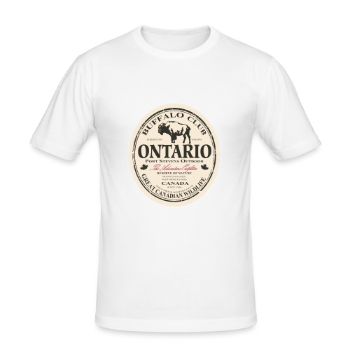 Ontario - Männer Slim Fit T-Shirt