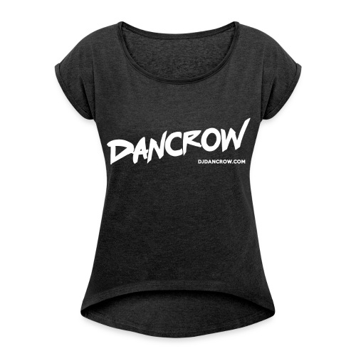 Dancrow TSHIRT female - Women's T-Shirt with rolled up sleeves