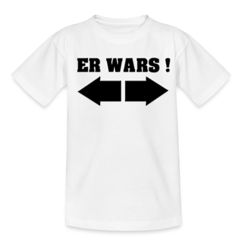 ER WARS! Jungen T-Shirt - Teenager T-Shirt