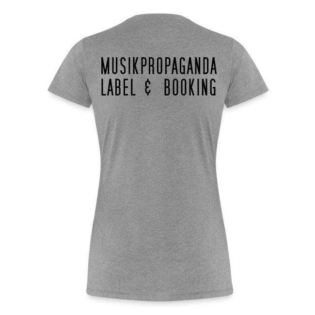 Musikpropaganda Label & Booking Damen T-Shirt