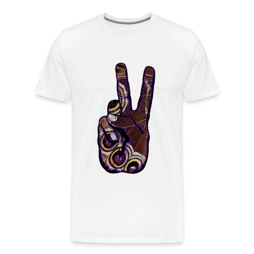 Color of Peace T-Shirt Männer - Männer Premium T-Shirt