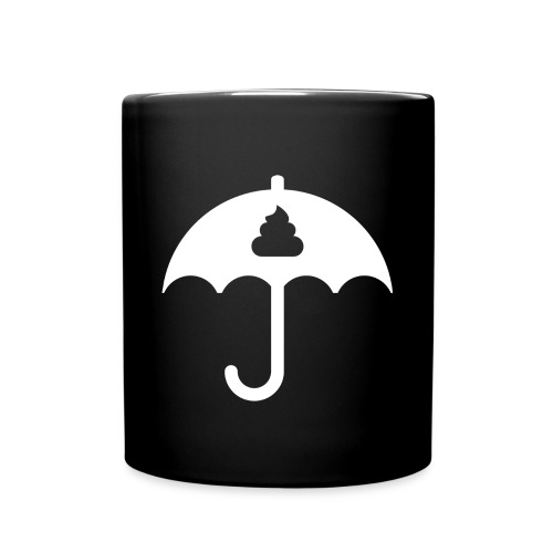 Sh*t Umbrella Mug - Full Colour Mug