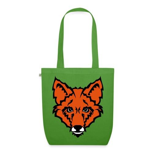 Fuchs 3 Farbig Stofftasche - Bio-Stoffbeutel
