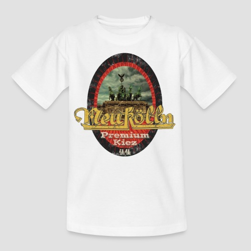 Neukölln Premium Kiez 44 - Teenager T-Shirt