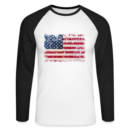 JoseDavidMartinsLTD - Men's Long Sleeve Baseball T-Shirt - Men's Long Sleeve Baseball T-Shirt