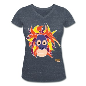 Oppermonkey T - Vrouwen bio T-shirt met V-hals van Stanley & Stella