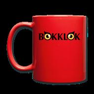 Muggar & tillbehör ~ Enfärgad mugg ~ Bokklok