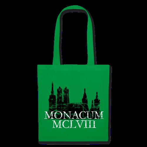 Monacum 1158 Skyline Vintage München Tasche - Stoffbeutel