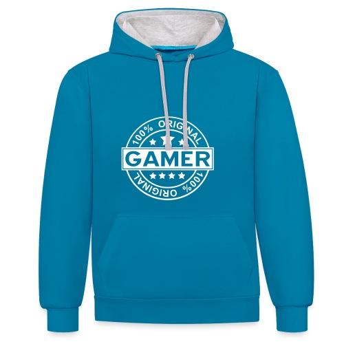 Sweet-Shirt - Original Gamer - Sweat-shirt contraste