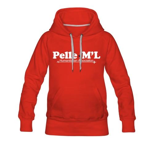 Sweat Pelle M'L pour FEMME - Sweat-shirt à capuche Premium pour femmes