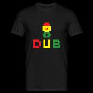 T-Shirts ~ Men's T-Shirt ~ Jahtari 8bit Dub