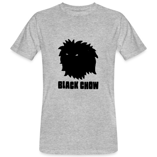 Black Chow Logo - Men's Organic T-shirt
