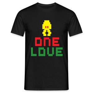 Jahtari One Love - Men's T-Shirt