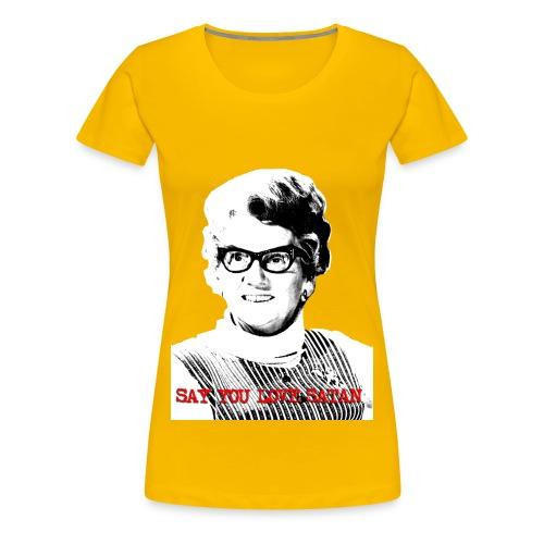Satan Whitehouse - Women's Premium T-Shirt