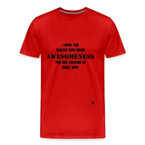 The D Shirt Awesome - Men's Premium T-Shirt