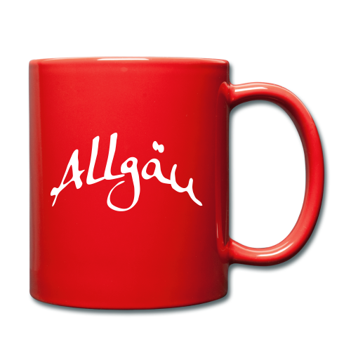 Allgäu Tasse Allgäu - Tasse einfarbig
