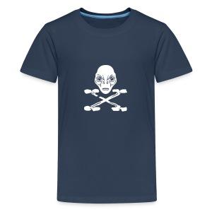 Alien pirate X tee ado bleu - T-shirt Premium Ado