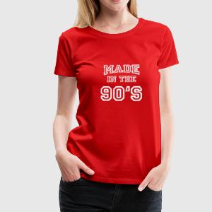 Made in the 90's T-shirts - Vrouwen Premium T-shirt