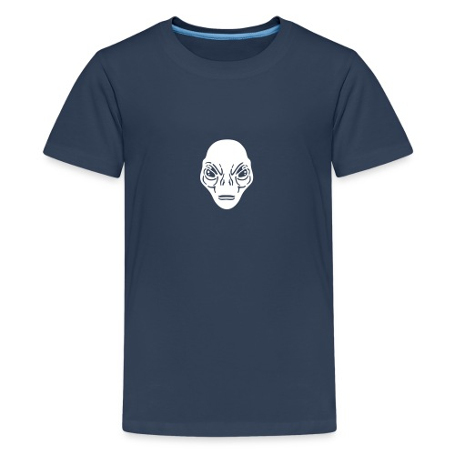 Alien Kopf Kid T-Shirt - Teenager Premium T-Shirt