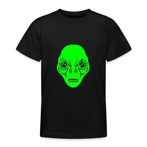 Alien t-shirt ado noir simple - T-shirt Ado