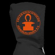 Pullover & Hoodies ~ Männer Premium Kapuzenjacke ~ Schmiede-Bombenleger-Sweater ORANGE hinten + vorne