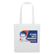 Bags & Backpacks ~ Tote Bag ~ Stand with Snowden tote bag
