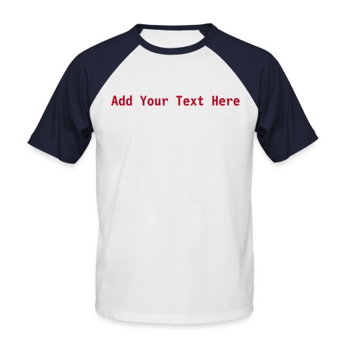 Custom - Men's Baseball T-Shirt