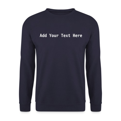 Custom - Men's Sweatshirt
