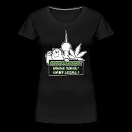 T-Shirts ~ Frauen Premium T-Shirt ~ Hanfparade 2013 Frauen Tshirt Premium
