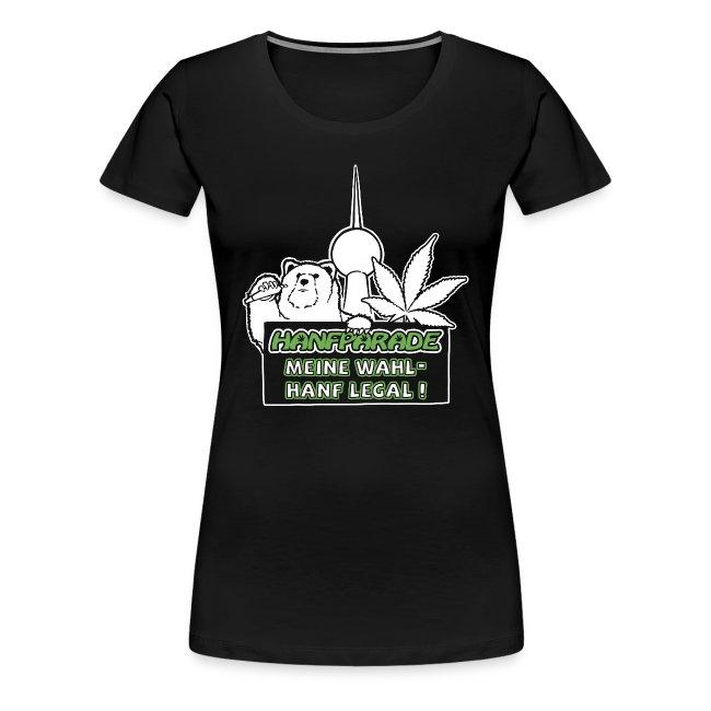 Hanfparade 2013 Frauen Tshirt Premium