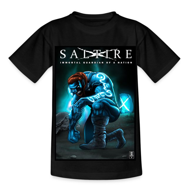 Saltire Invasion Tshirt Older Kids