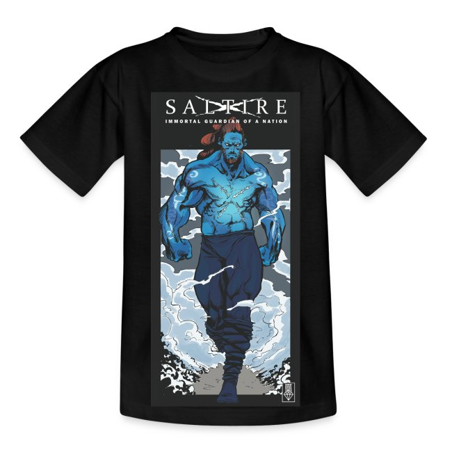Saltire Annihilation Tshirt Older Kids