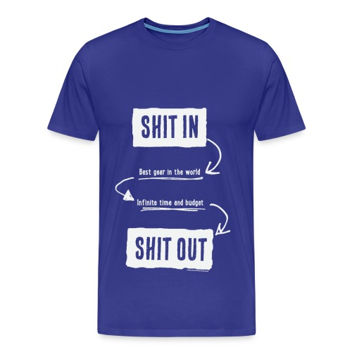 Shit in, Shit out (Man) - T-shirt Premium Homme
