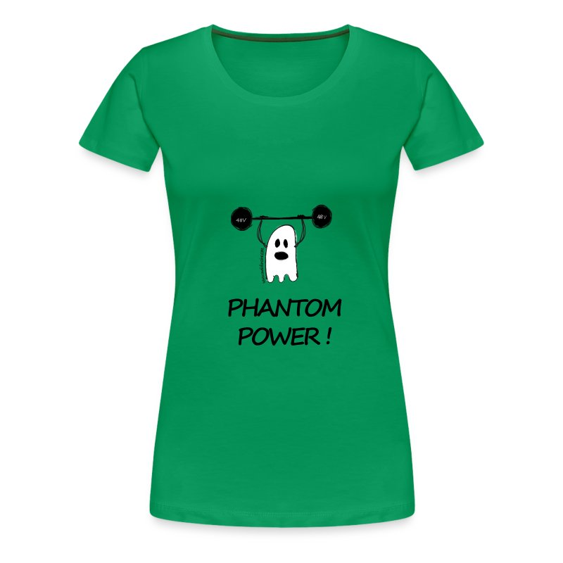 Phantom Power (Woman) - T-shirt Premium Femme