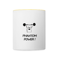 Bouteilles et Tasses ~ Tasse bicolore ~ Phantom Power (Mug)