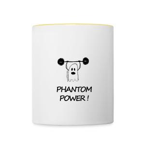 Phantom Power (Mug) - Mug contrasté